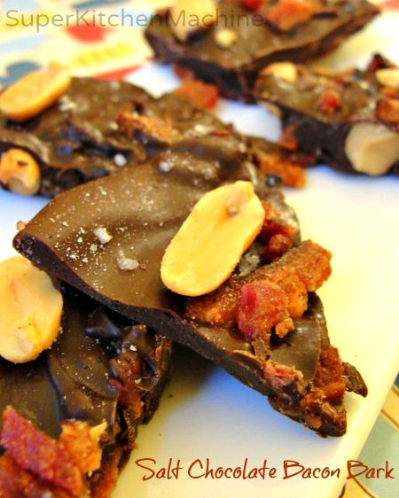 easy to make in a Thermomix kitchen at #Christmas: Chocolate Bacon Bark #recipe