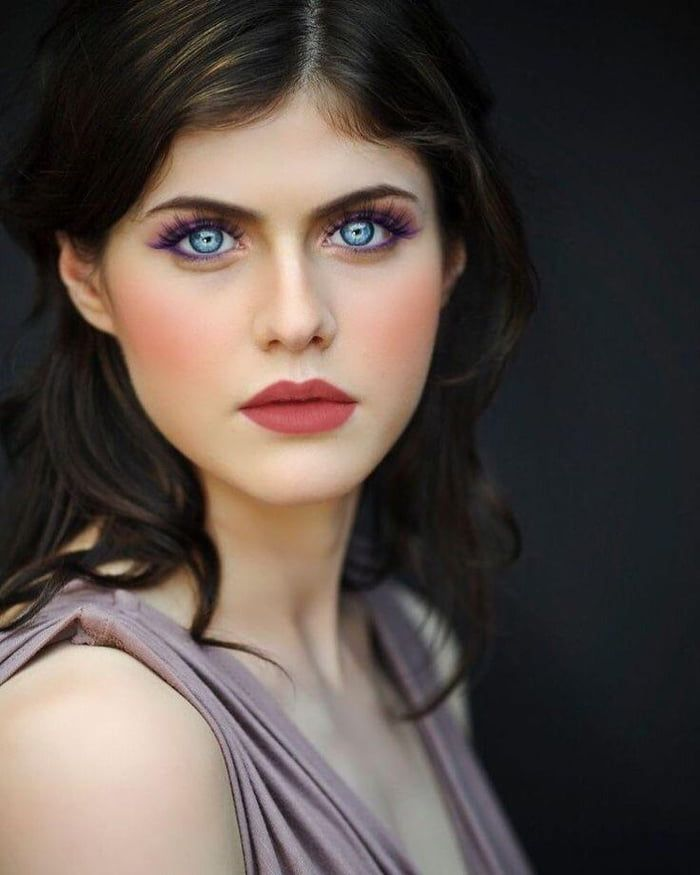 She Has World S Most Beautiful Eyes Alexandra Daddario