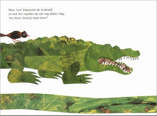 Krokodil en muis, Eric Carle