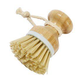 Dish Brush with Bamboo Handle