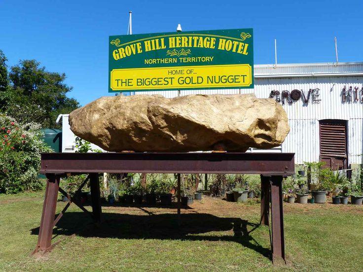 Big Gold Nugget, Grove Hill  NT