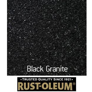 Rustoleum Countertop Paint Home Depot Canada : Rust-Oleum Stone Spray Paint - Black Granite - 400ml from Homebase.co ...