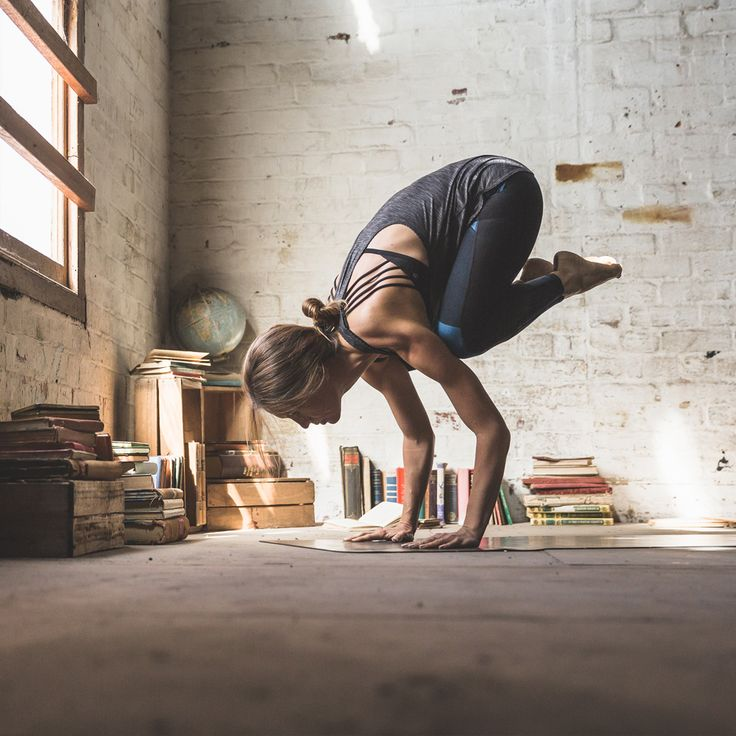 crow #yoga