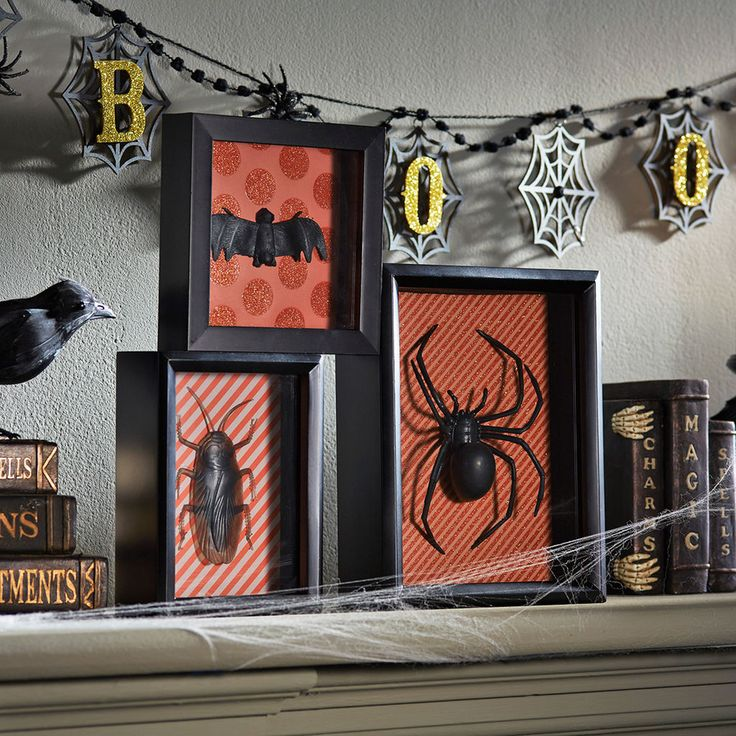 create these diy creepy shadow boxes to add spooky ambiance to your halloween decor