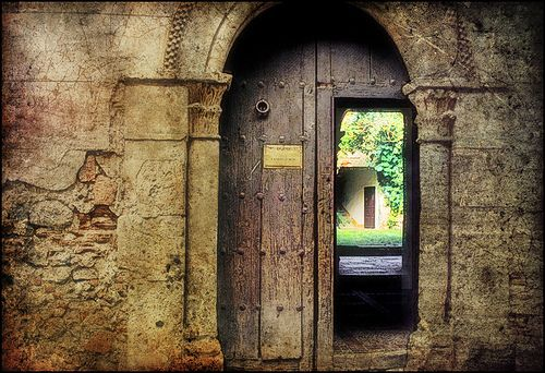 Italian Doors #7, Florence by h_roach - Moving and will be busy for a while, via Flickr