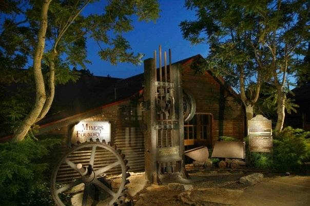 Miners Foundry Cultural Center in Nevada City.  The main hub of the Nevada City Film Festival.