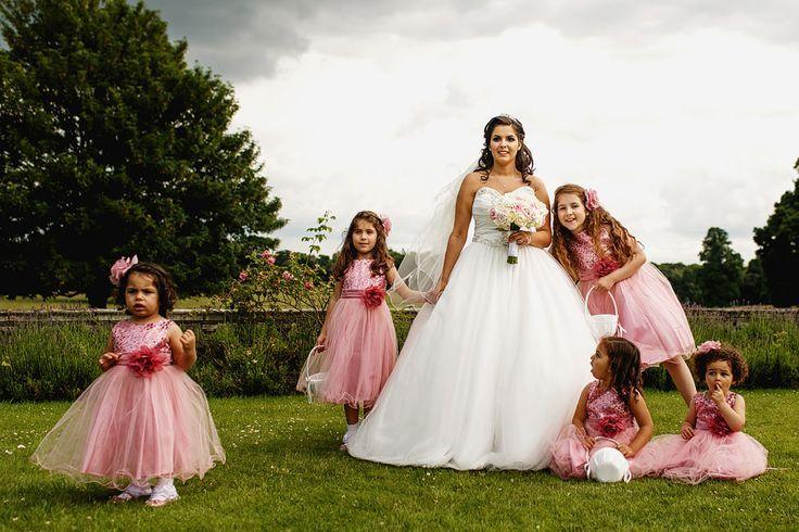 Children make your wedding memorable.   F5 Photography   London, United Kingdom.