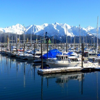 Seward, Alaska, been there, but I want to go back!