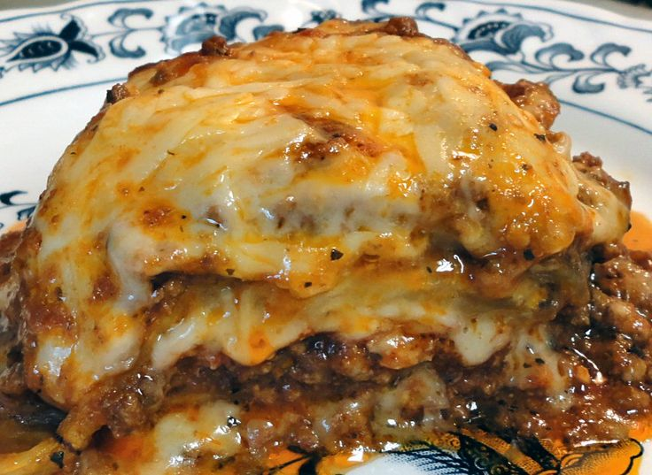 MEATY EGGPLANT LASAGNA - Linda's Low Carb Menus & Recipes