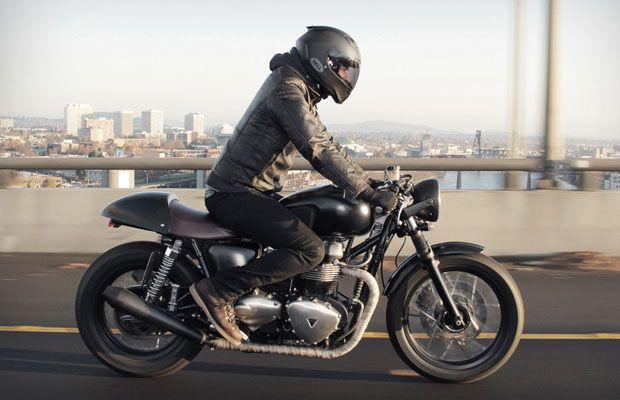 Cafe Racer Clothing Style Motorrad Bild Idee
