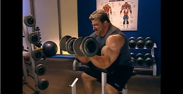Exercises for your biceps and triceps. How to build your biceps and triceps. Includes information about the muscles and diet. Shows routines to build massive biceps and triceps.