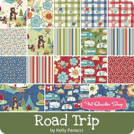 Road Trip Fat Quarter Bundle Kelly Panacci For Riley Blake