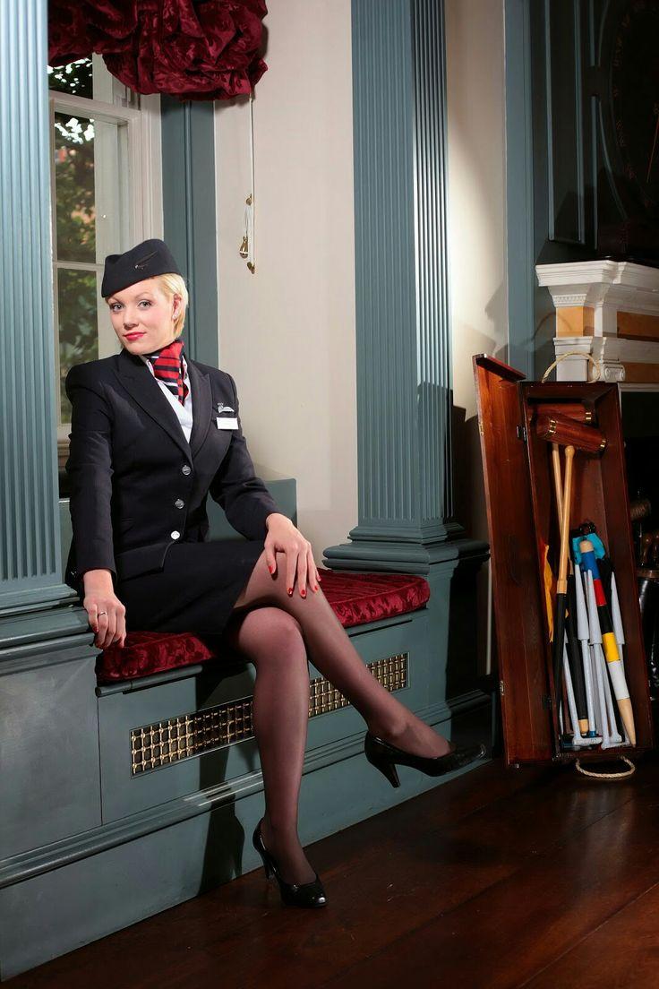Фото стюардесс в юбках — photo 4