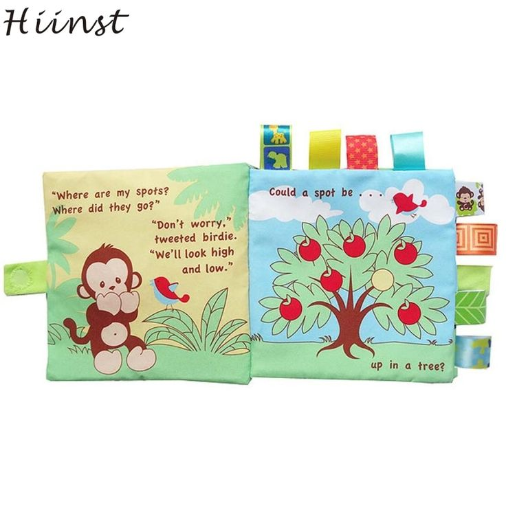 HIINST funny book Animal Monkey Puzzle Cloth Book Baby Toy Cloth Development Books baby gift Best seller S20. Yesterday's price: US $3.61 (2.95 EUR). Today's price: US $3.61 (2.98 EUR). Discount: 21%.