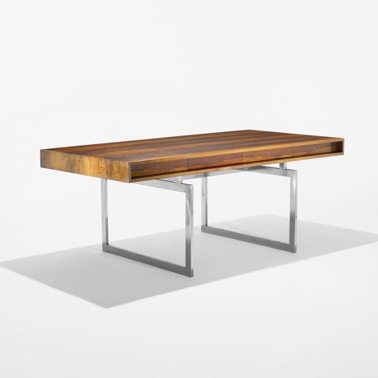 Bodil Kjaer, desk for E. Pedersen & Sons, 1959.