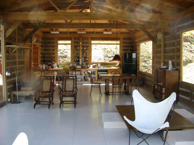 Interior Casa Pacho - Taller de Ensamble #woodarchitecture #wood #madera #casasenmadera #arquitecturaenmadera http://www.tallerdensamble.com