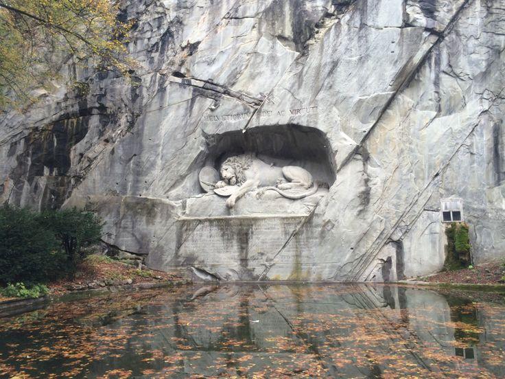 Lucerne - Lion Monument