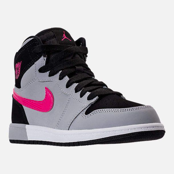 hot sale online 2239c 072c1 Girls' Little Kids' Jordan Retro 1 High Basketball Shoes in 2019 ...