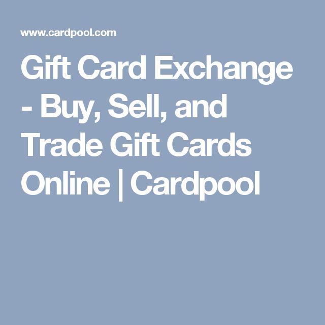 how to sell cards online