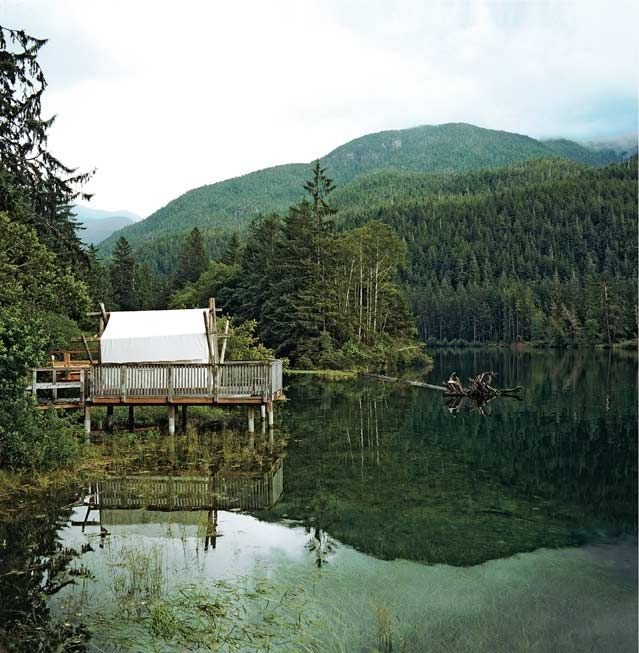 The 10 Best Canadian Adventures. (Pictured: Clayoquot Wilderness Resort, British Columbia.) #Canada