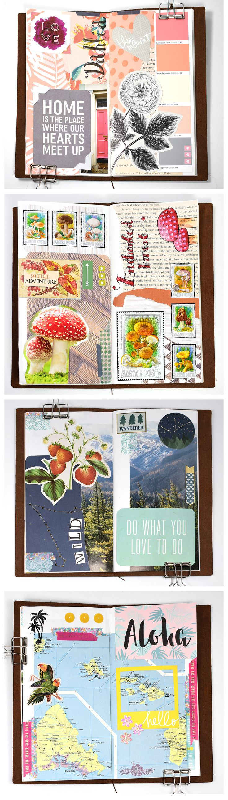 FREE Daily Scrapbooking and Art Journal Prompts - November 2017 - CreativePassport.org