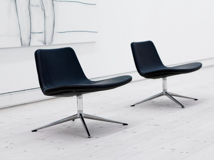 C15- Hay Ray Lounge Chair - Swivel Base