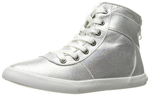 Rocket Dog Women's California Space Travel Cotton Fashion Sneaker, Silver, 6.5 M US