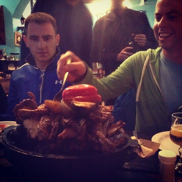 The big meat challenge in Colonia!