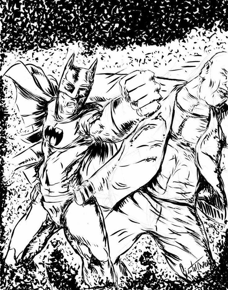 millevignette di ignazio piscitelli: Batman sketch