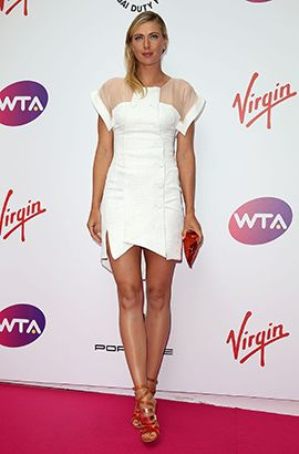 Hottest Red Carpet Bodies of 2014 | Maria Sharapova, Tennis Pro