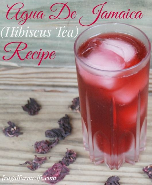 Agua De Jamaica Fresco (Hibiscus Tea) Recipe. This is why we don't miss Koolaid in our house - we have a fun, deep red drink without the red 40! You can get hibiscus flowers in most grocery stores to make your own!