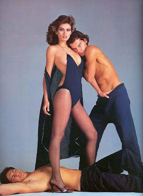 1979 Gianni Versace Gia Carangi in Swimsuit