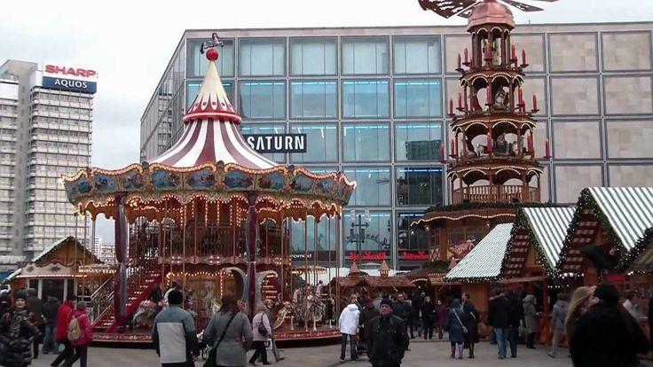 Weihnachtsmarkt Berlin Alexanderplatz 2011 .......................YOU TUBE----