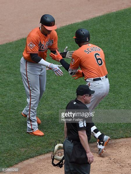 News Photo : Manny Machado of the Baltimore Orioles...