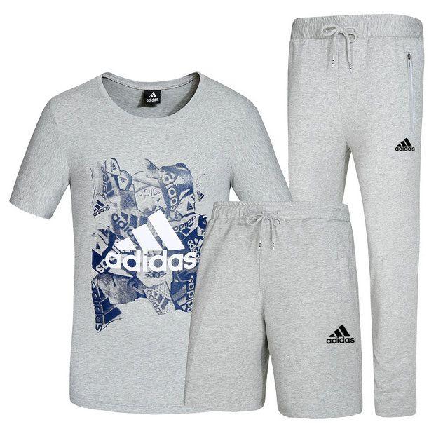 2018 Fashion Adidas T Shirt Short Sleeve Five sub pants