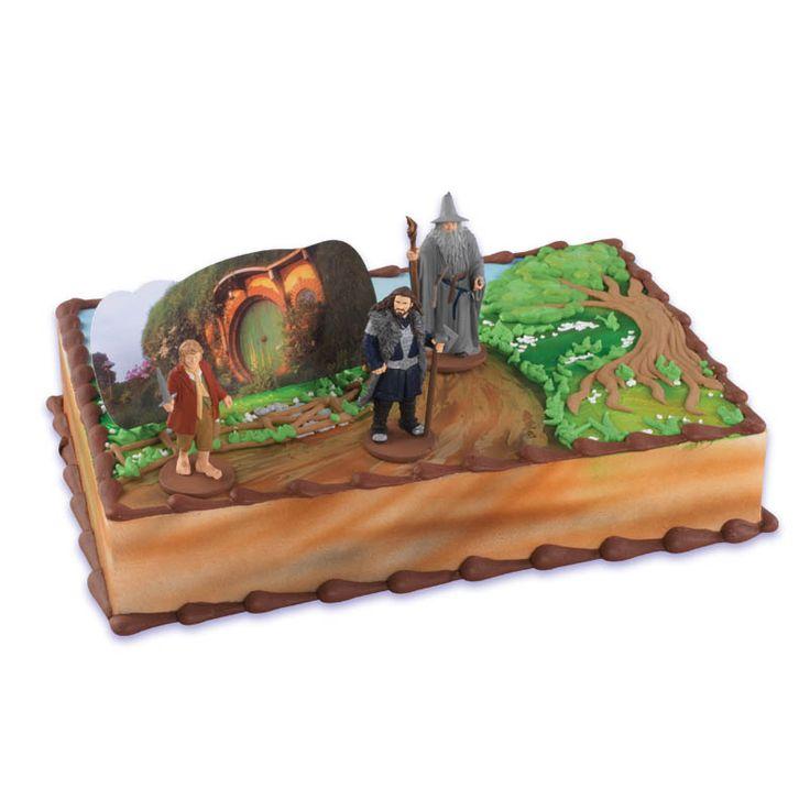 Hobbit Cake Topper