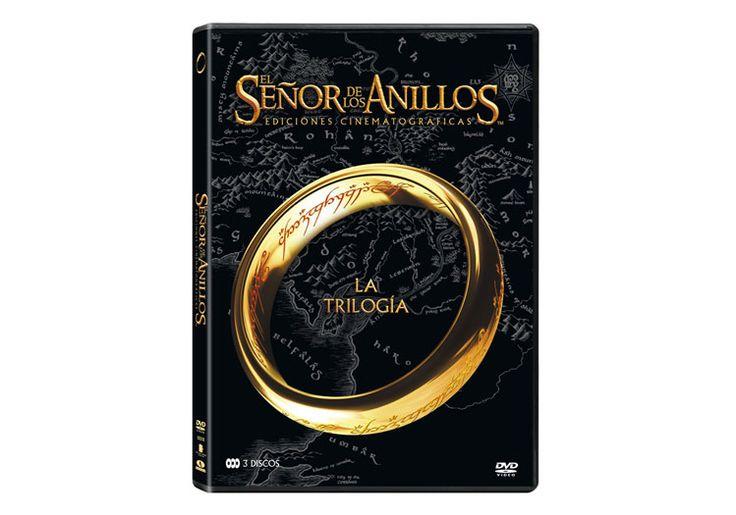 La trilogía de el Señor de los anillos de Peter Jackson a un precio insuperable, 7,25€ en formato DVD con audio y subtítulos en español.