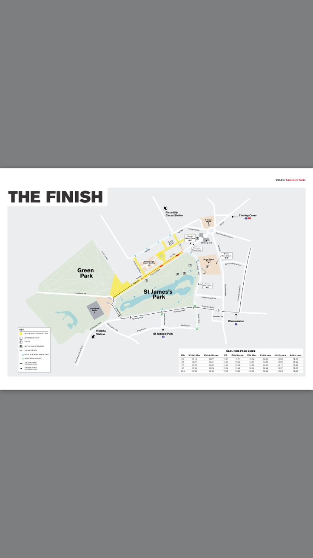 The  Best London Marathon Map Ideas On Pinterest - Nyc marathon course map pdf