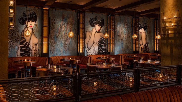 Located on Bowery, the TAO Group's Vandal restaurant celebrates the art…