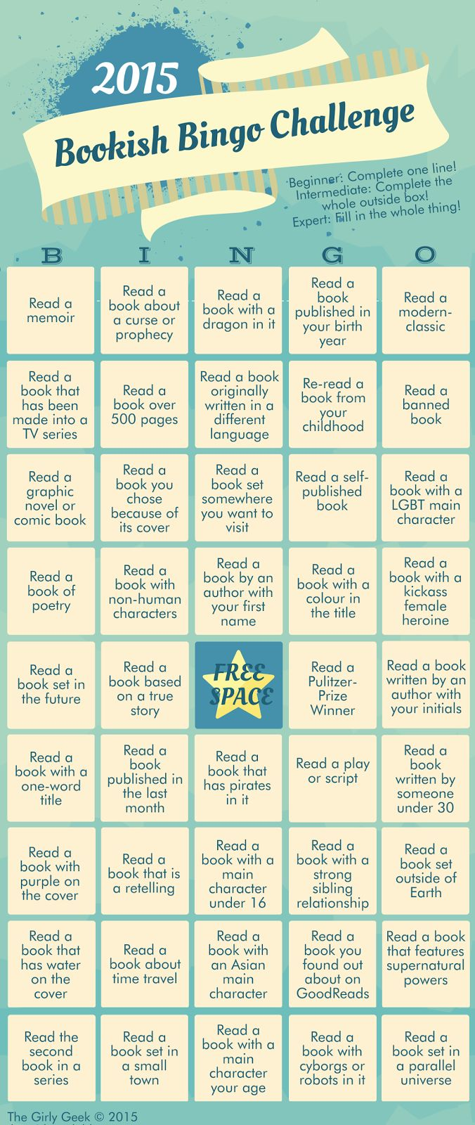 Yes, all caps were necessary inthattitle because it's BOOKISH BINGO! Such an awesome and brilliant idea. Who doesn't love…