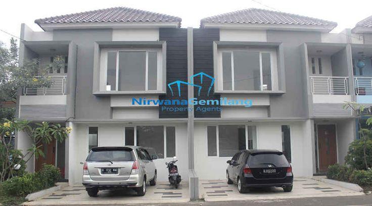 TreVista Ciputat Residence cluster READY STOCK dengan type Rumah cluster 2 lantai minimalis yg berkonsep natural dan elegan