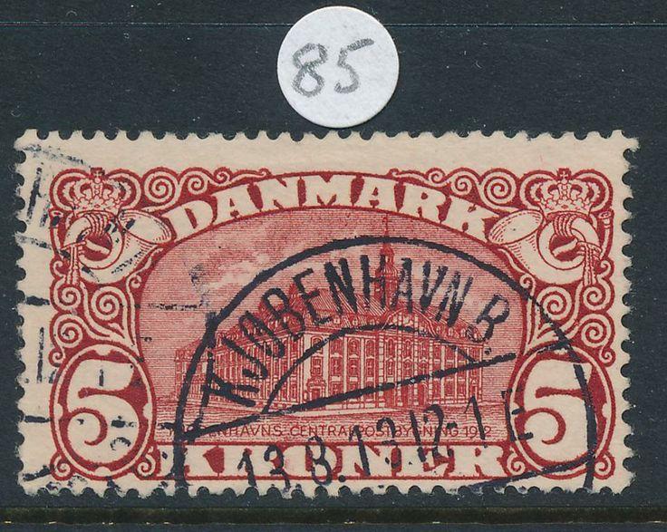 F 120 Centralposthuset, Vm krona. på Tradera. Stämplat | Frimärken