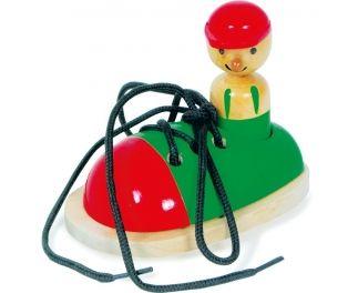 Charls toys Schoentje veters binden