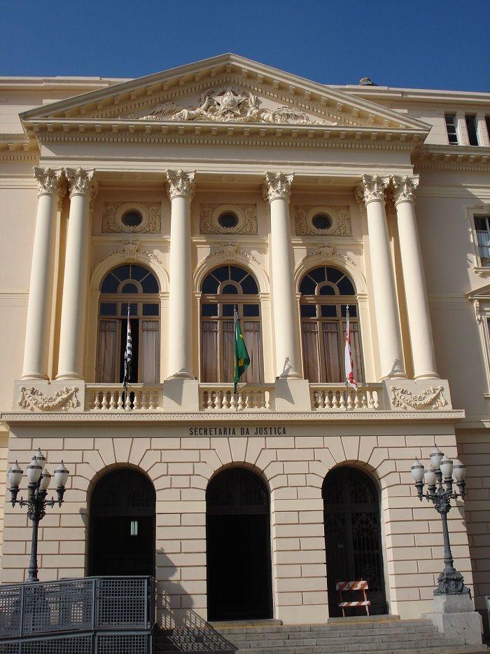 Centro de São Paulo: Antigo edifício da Secretaria da Fazenda e do Tesouro. Fotografia: Moyarte - Mônica Yamagawa.