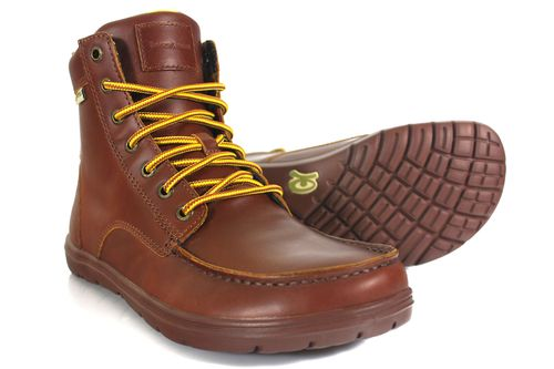 Mens Boulder Boot Leather Russet