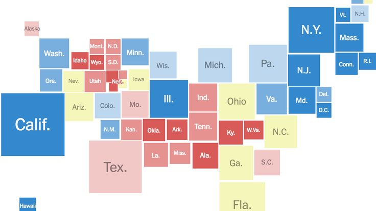 2016 Electoral Map Forecast - The New York Times