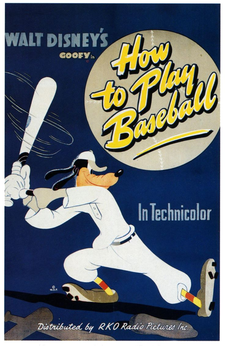 Goofy in How to Play Baseball 1942