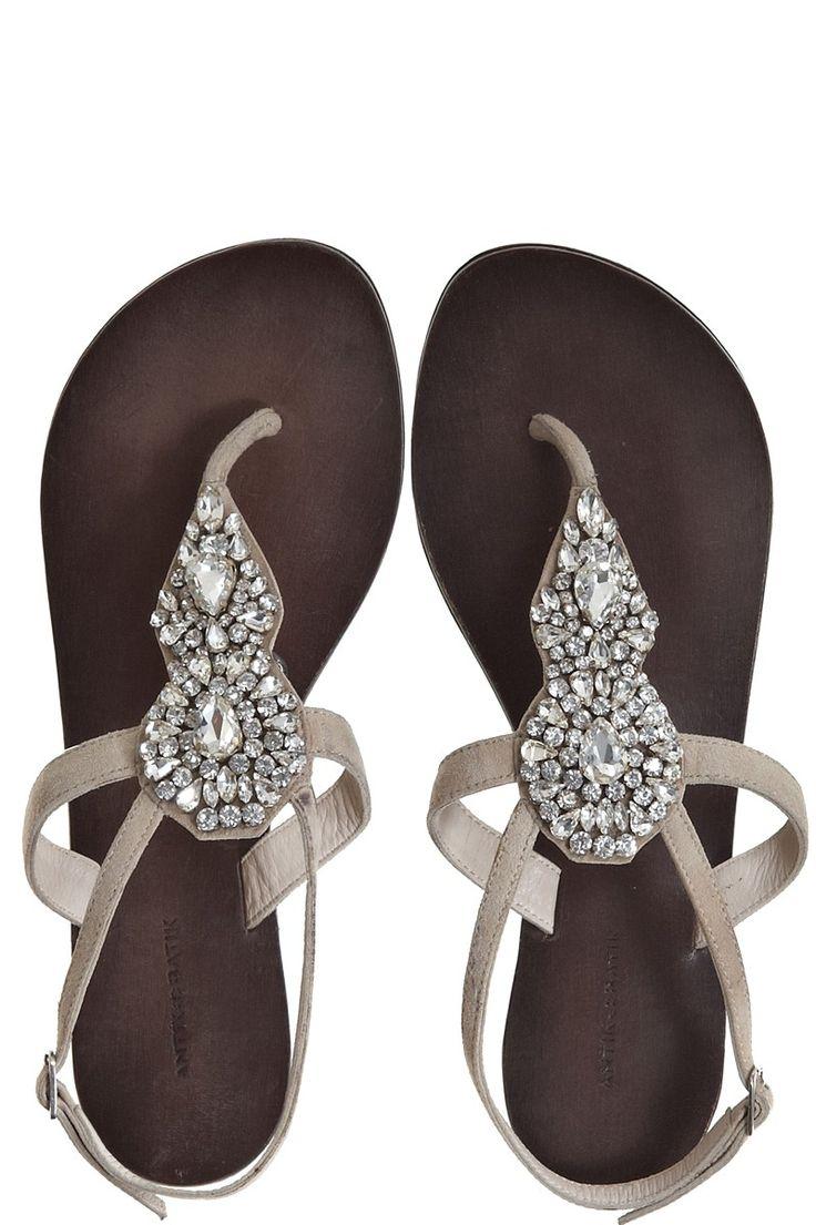 Jamaican sandals shoes - Maya Rhinestone Sandal