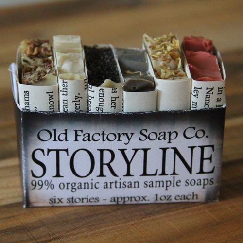 old factorys storyline artisan soap sampler soapcomsg - Storyline Bookshelf