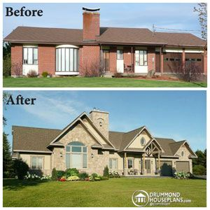 Image result for ranch house exterior facelift                                                                                                                                                                                 More